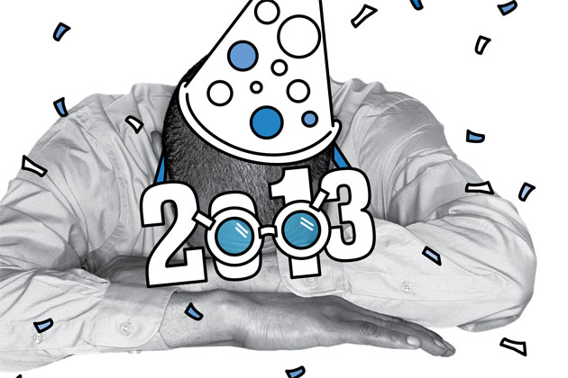 Face it: 2013 is gonna be a bummer