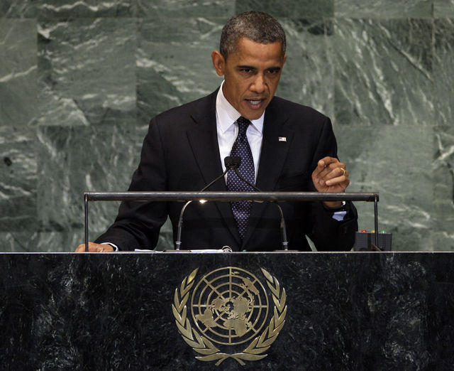 President Barack Obama at the UN