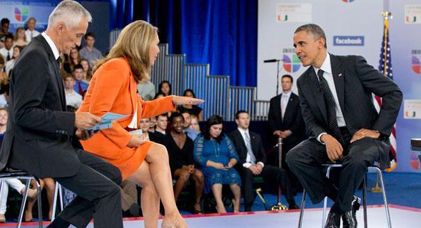 President Obama under fire on Univision