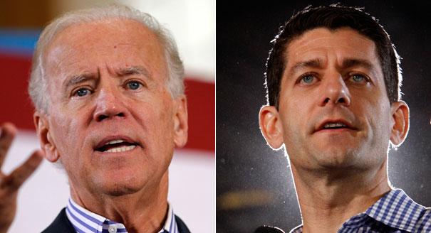 Vice presidential candidates Joe Biden and Paul Ryan will debate at 9 pm tonight.
