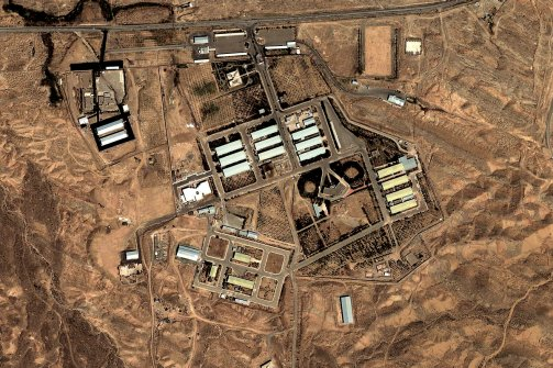 In this AP photo: The military complex at Parchin, Iran, in 2004.