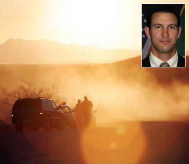US Border Patrol Agent Nicholas Ivie was probably killed by friendly fire along the US-Mexico border.
