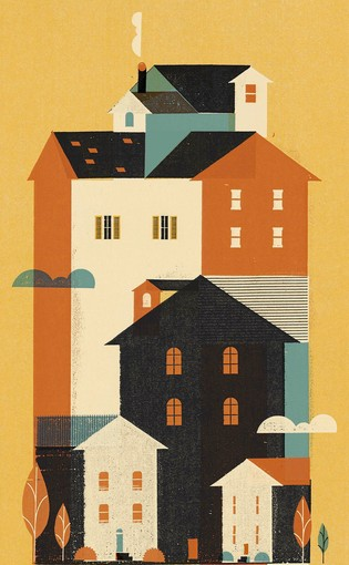 The Housing Market by Keith Negley, for The Los Angeles Times, October 13, 2012.