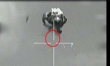 The Israeli Air Force shot down a Hezbollah drone that entered Israeli air space.