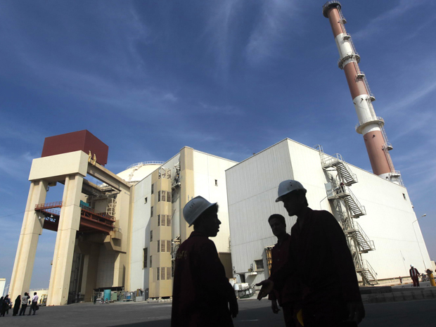 The Russian-built Bushehr nuclear power plant in southern Iran. Photo: Getty Images
