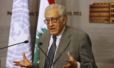 International mediator Lakhdar Brahimi. Credit: Reuters