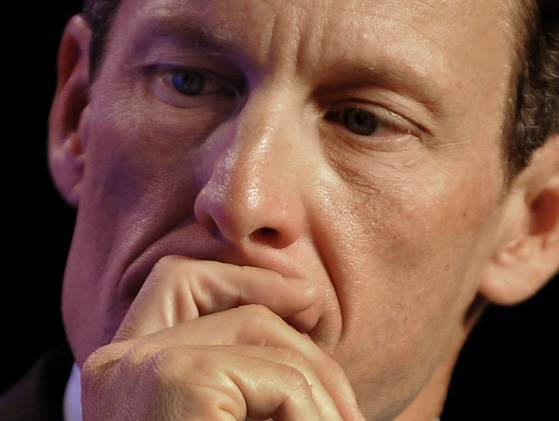 Lance Armstrong is stepping down as chair of Livestrong. Credit: Getty Images