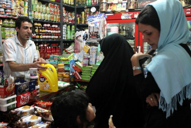 The Iranian public supports its government's nuclear program, despite crippling sanctions from the West. Credit: The Middle East Channel