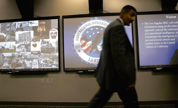 Joint Regional Intelligence Center in Norwalk, California.