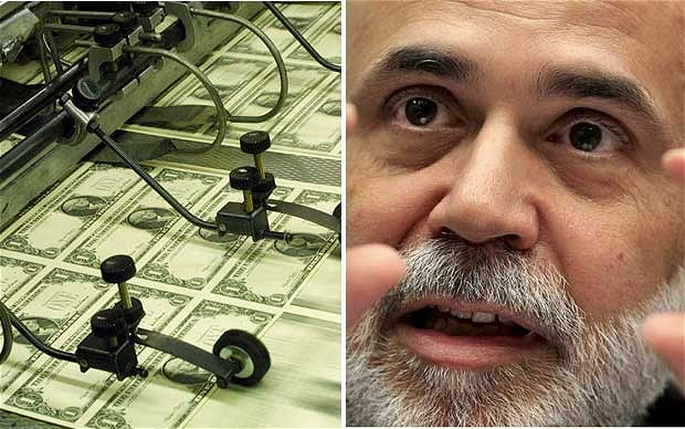 Federal Reserve Chairman Ben Bernanke: His latest money-printing plan has proved controversial in the US with the Presidential Election just a month away