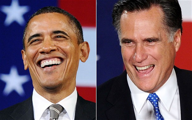 Barack Obama and Mitt Romney will debate head-to-head for the first time at 9pm Eastern, October 3, 2012 in Denver, Colorado.