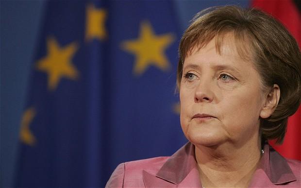 German Chancellor Angela Merkel: Germany is already sharing much eurozone debt