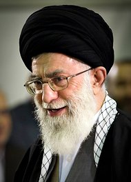 In this Reuters photo, Iran's Ayatollah Ali Khamenei.
