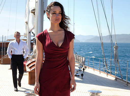 IMAGE: 'Skyfall,' the new James Bond film, broke the franchise's opening weekend record with $88 million in ticket sales. Credit: Francois Duhamel via Entertainment Weekly