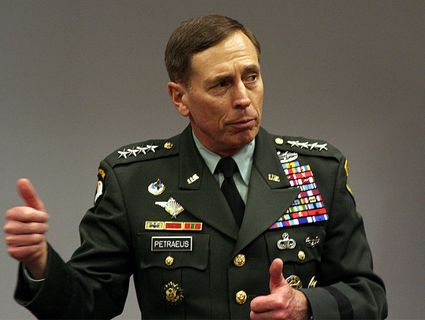 IMAGE: Gen. David Petraeus, before his retirement from the Army in August 2011. Credit: Flickr/hectorir